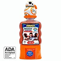 Firefly 星球大戰 Fun Pump 防蛀牙齒沖洗,16 盎司(4 瓶裝)