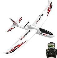 VOLANTEXRC 遥控飞机 RTF Ranger600 WiFi 版 Parkflyer 遥控飞机 准备飞行 带Xpilot 稳定系统 一键 U 转弯功能 初学者可轻松飞行 (761-2 WiFi)
