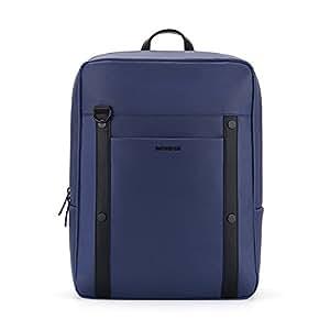 Samsonite 新秀丽 中性 TOIDY系列时尚休闲双肩包商务电脑包 TQ5*61002 海军蓝 14寸
