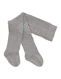 GoBabyGo 原创防滑婴儿爬行裤 | 防滑爬行支撑,适合活跃的儿童 | 弹力棉 | 6-12 个月和 12-18 个月 | 11 种颜色 灰色(Grey Melange) 6-12m (74-80cm)