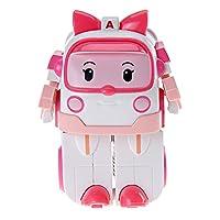 Silverlit 银辉 POLI系列 儿童汽车玩具人偶模型 安巴变形机器人(可变形) SVPOLI83172STD