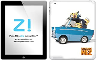 Zing Revolution Despicable Me 2 - Drive Tablet Cover Skin for iPad 4/3 (MS-DMT190351)