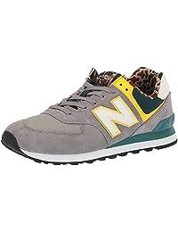 New Balance 男士 Ml574v2 灰色 7 M US