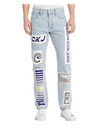 Calvin Klein 男士 CKJ 035 直筒牛仔褲