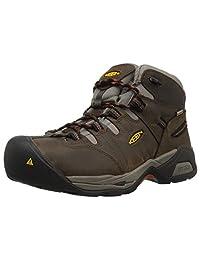 KEEN Utility 男士 Detroit Xt 中筒柔软防水工业靴