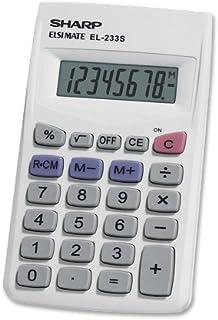 Sharp EL233SB 标准功能计算器