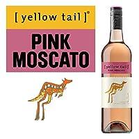 Yellow Tail 黄尾袋鼠幕斯卡桃红葡萄酒750ml(澳洲进口)(Wine)