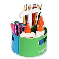Learning Resources Create-A-Space小型存储盒,教室工艺品存储,创新制作者空间,小空间存储,教师组织工具,家庭学校配件,4件套