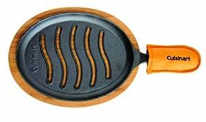 Cuisinart 美膳雅预处理铸铁烤面包套装 3-pc. 黑色 CFS-219