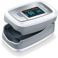 Beurer PO30 Fingertip Pulse Oximeter, Blood Oxygen Saturation and Pulse Rate Monitor, Instant Reading, w/Carrying Case