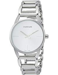 Calvin Klein 卡尔文克莱恩 美国品牌 瑞士制造 CK Ladies系列 石英手表 女士腕表 K3G23526