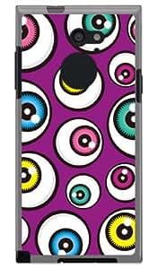 YESNO earth 紫色 (软质TPU透明) / for arrows RM02/M02/MVNO智能手机(SIM免费终端) MFJM02-TPCL-701-Q188