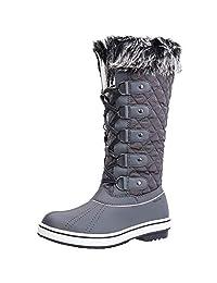 ALEADER 女士防水冬季雪地靴