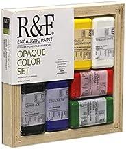 R&F Encaustic Paints Opaque Colors, Set