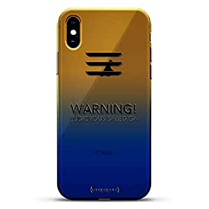 渐变系列透明超薄硅胶外壳LUX-IMXCRM2B-LUDICROUS1 ALL THINGS ELON: LUDICROUS SPEED! TESLA FAN CASE 蓝色(Dusk)