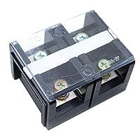 Fielect 屏障接线盒 带盖屏障螺丝接线盒 600V TC-150A/4P 1 件 TC100A/2P 1Pcs FLT20191125J-1028