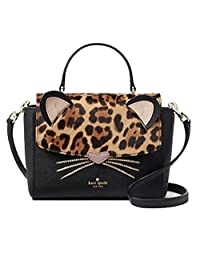 Kate Spade Leopard Run Wild Kerrie 斜挎包黑色