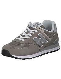 New Balance 男士 Iconic 574 运动鞋 灰色 41.5