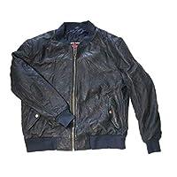 MOTO FIELD 皮夾克(復古) 水洗羊皮加工 Mサイズ MF-LJ135