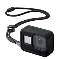 Elecom宜丽客 GoPro HERO8 Black 手机壳 ZEROSHOCK 黑色 AC-GP8BZEROCBK