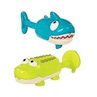 B.Toys 比乐 动物水枪 夏日戏水 沙滩玩具 抽拉式喷水枪  婴幼儿童益智玩具 礼物 18个月+  BX1551Z