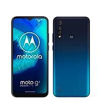 moto g8 power lite 双卡智能手机(6.5英寸HD+大显示屏,16MP主摄像头,64GB/4GB,Android 9),含壳,蓝色