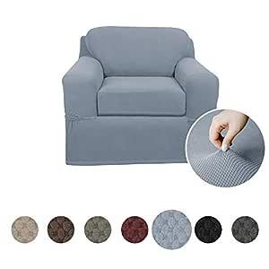 Maytex Slipcover 覆盖 多种颜色 钢蓝色 Chair 4300513