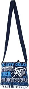 NBA Oklahoma City Thunder Canvas Wordmark Hip Tote Bag