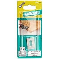 Wolfcraft 4310000-4300000 替换刀片,3 个装