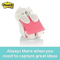 Post-it Pop-up Note Dispenser, 3 x 3 Inches Cat Figure CAT-330
