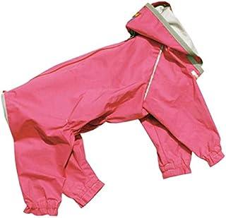 WHCY 宠物用品 狗服装 雨衣 J外套W 2403W085 皇家粉色 7号
