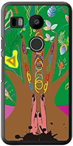 Coverfull 祈祷 (透明) design by Toshi/for Nexus 5X LG-H791/docomo DLGN5X-PCCL-152-MAZ1
