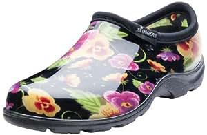 Sloggers 女士防水雨花园鞋舒适鞋垫 7 紫色 5114BP07