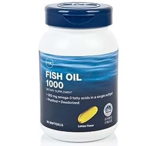 GNC 健安喜深海鱼油软胶囊90粒/瓶(进口)
