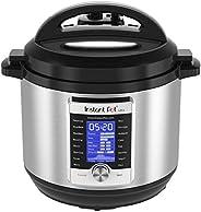 Instant Pot Ultra 8夸脱/约7.6升 10合1多用途可编程压力锅、慢速锅、电饭煲、酸奶机、蛋糕机、鸡蛋锅、炒锅、蒸锅、加热器和消毒器 需配变压器