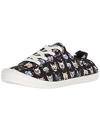 Skechers BOBS 女式 Beach Bingo-Dapper Cats Scrunch 运动鞋