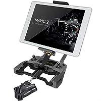 Hanatora 铝合金 4.7-12.9 英寸平板电脑支架带金属螺母环,手机支架带挂绳,适用于 DJI Mavic Mini,Mavic 2 Pro/Zoom,Mavic Air/Spark/Mavic Pro/Platinum 遥控器