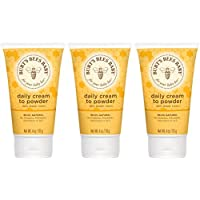 Burt's Bees Baby Bee Cream-To-Powder, 4 Ounces (Pack of 3)