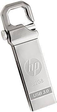 HP 惠普 u盘挂钩设计金属制造的闪存驱动器  x750w - USB 3.0 / 金屬製 耐衝撃 防滴 防塵 32GB