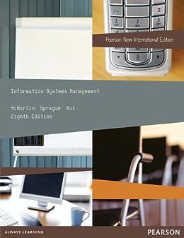 """Information Systems Management: Pearson New International Edition (English Edition)"",作者:[McNurlin, Barbara, Sprague, Ralph, Bui, Tung]"