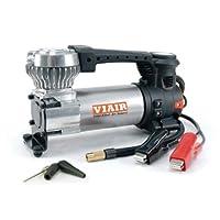 Viair 便携式空气压缩机和数字轮胎压力仪包 银色 88P