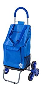 dbest products 01-570 Trolley Dolly Stair Climber, Blue
