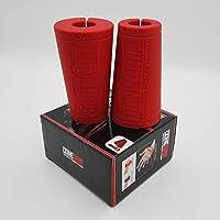 ConeGrip - 前臂和手指训练器新*圆锥形厚杆适配器手柄,防滑橡胶材料,非常适合塑身、手臂摔跤、举重、攀岩和交叉健身。