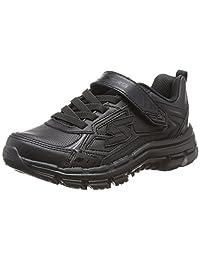 Skechers 斯凯奇 SKECHERS BOYS系列 男童 魔术贴运动鞋 95357L-BBK