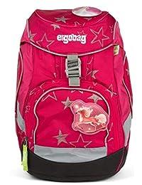 ERGOBAG CinBärella 儿童背包,35 厘米,粉色星星