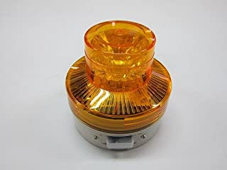 日惠制作所 电池式旋转灯 黄色 手动型 VL07B-003AY