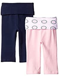 Yoga Sprout Baby-Girls Yoga Pants (Pack of 2)