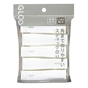 国誉 棒棒棒 GLOO しっかり貼るタイプ Sサイズ(5個パック)