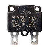 KUOYUH 断路器 88AR 系列 125/250VAC 50/60Hz (3A-16A) (1 件) 11A