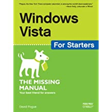 Windows Vista for Starters: The Missing Manual: The Missing Manual (English Edition)